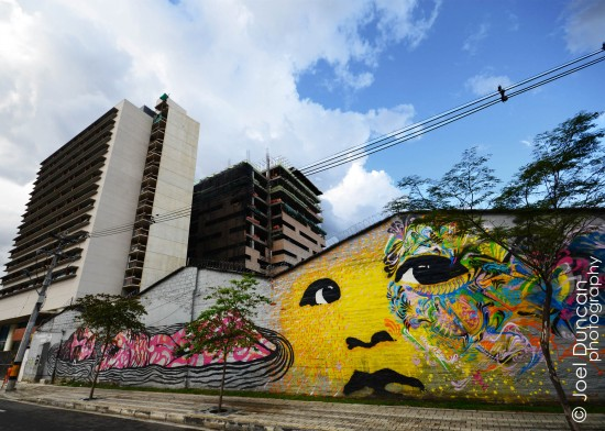Face and Sky POTD 07Feb2012 550x392 Photo of the Day: A Face of Urban Art (Medellin, Colombia) photography culture buff colombia  Street Art Face Art