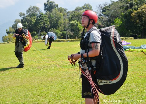 Flying High in Bucaramanga, Colombia - A Paragliding