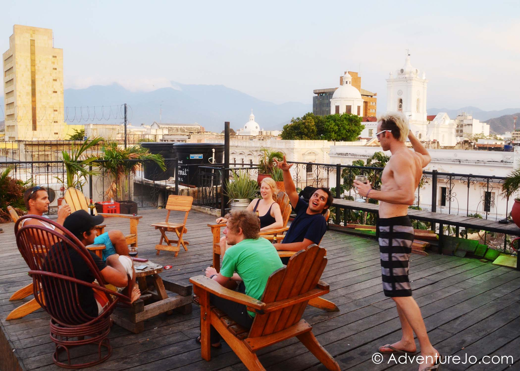 Staying at La Brisa Loca Hostel in Santa Marta, Colombia
