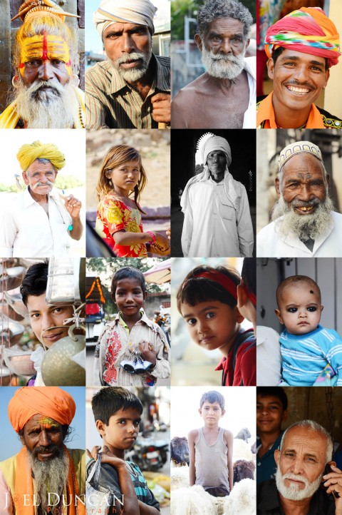 Street Portrait Photography in India