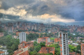 Sunrise in Medellin Colombia (Photo of the Day)