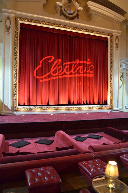 Electric Cinema in Notting Hill