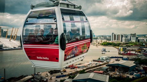 The Thames River Cable Car