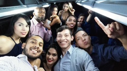 meeting medellin women on party bus