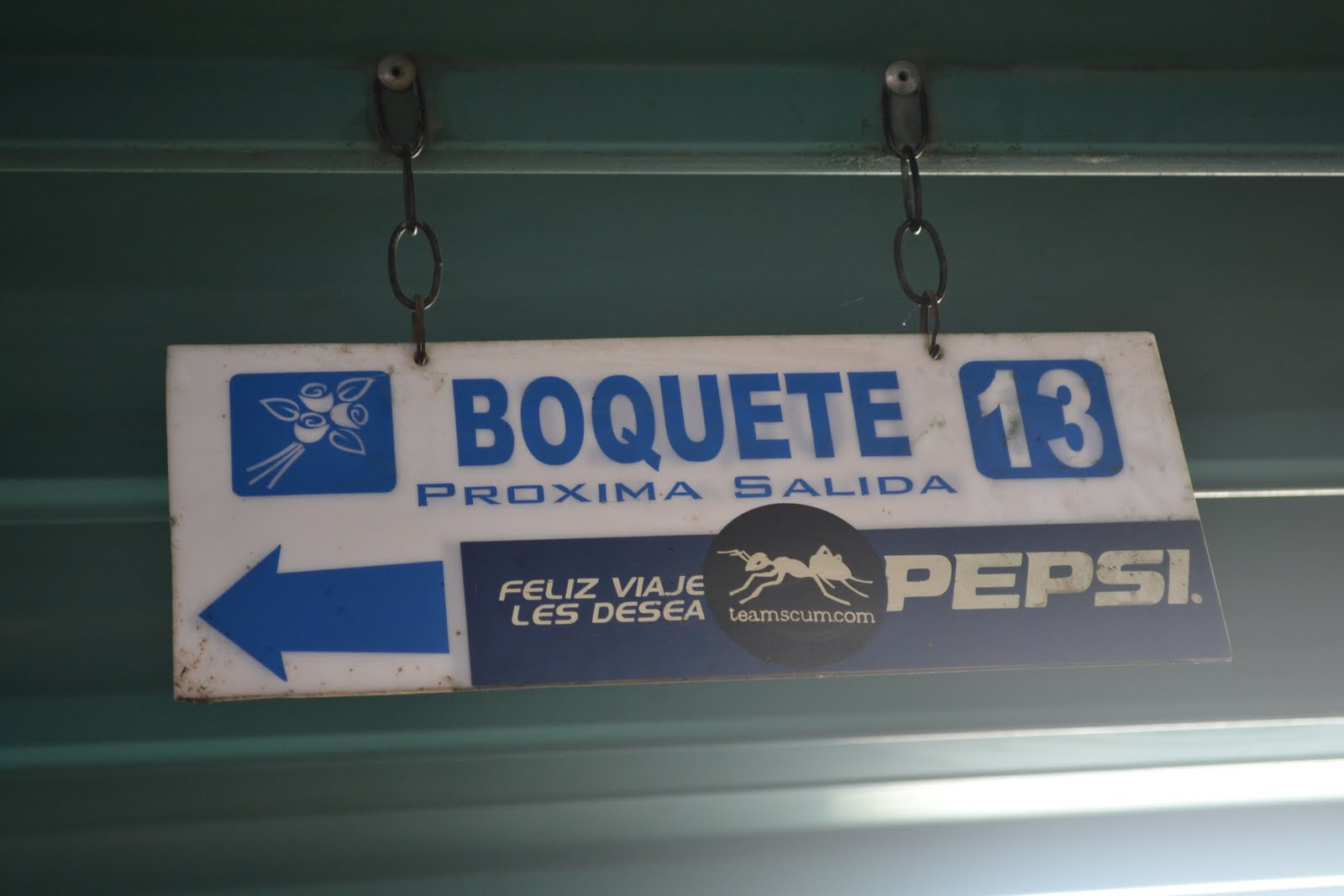 Taking a Bus from San Jose Costa Rica to Boquete Panama
