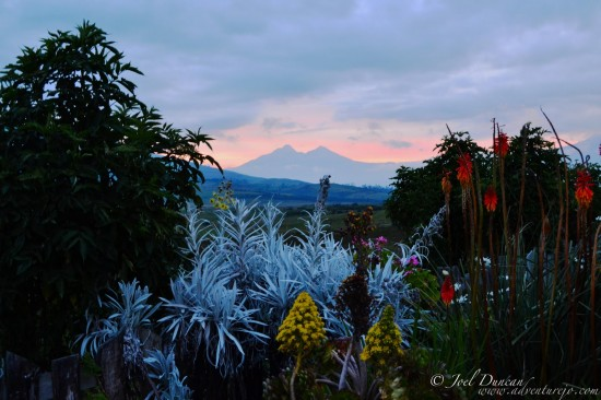 Getting from Quito Ecuador to The Secret Garden in Cotopaxi