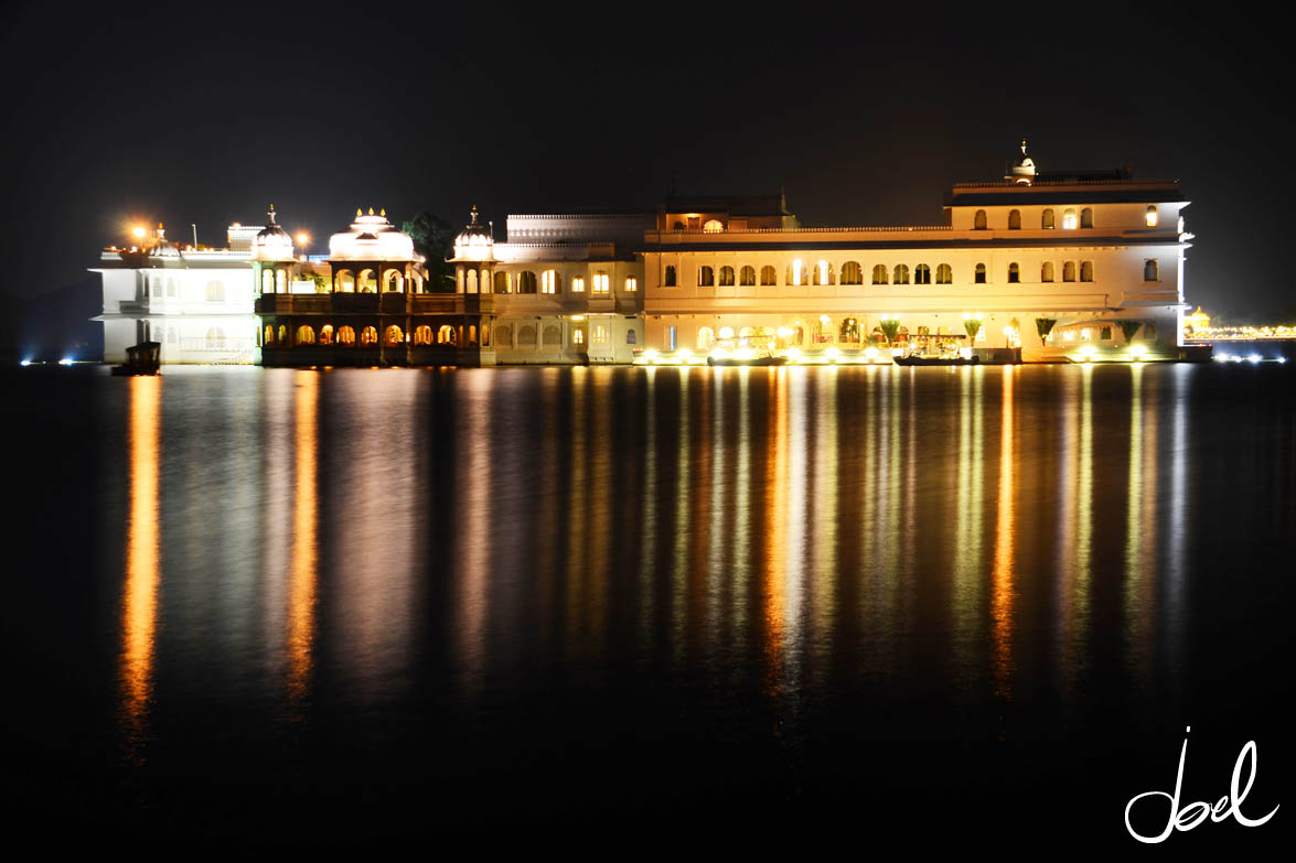 Hotel on Lake Pichhola in Udaipur, India