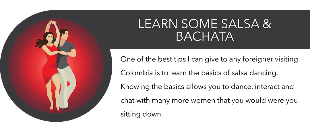 learning salsa and bachata in medellin infographic