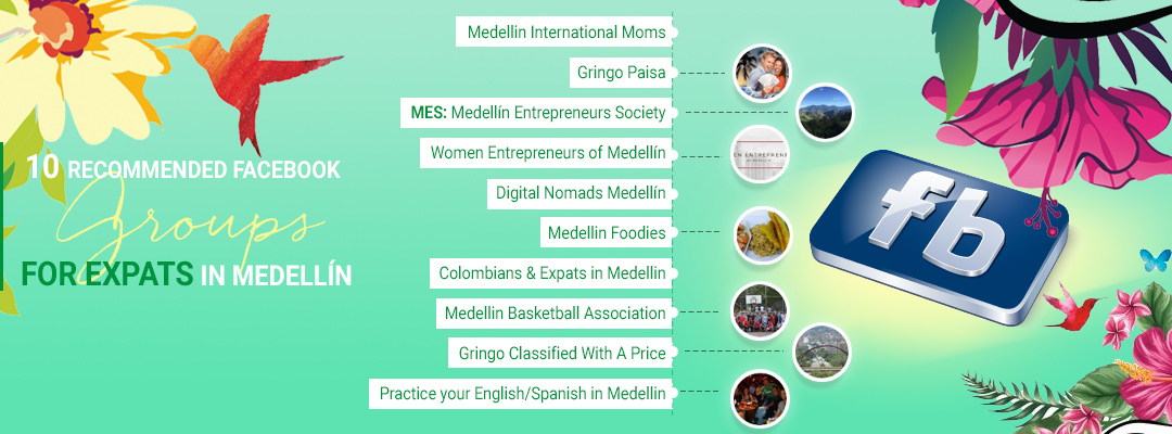 best facebook groups for expats in medellin